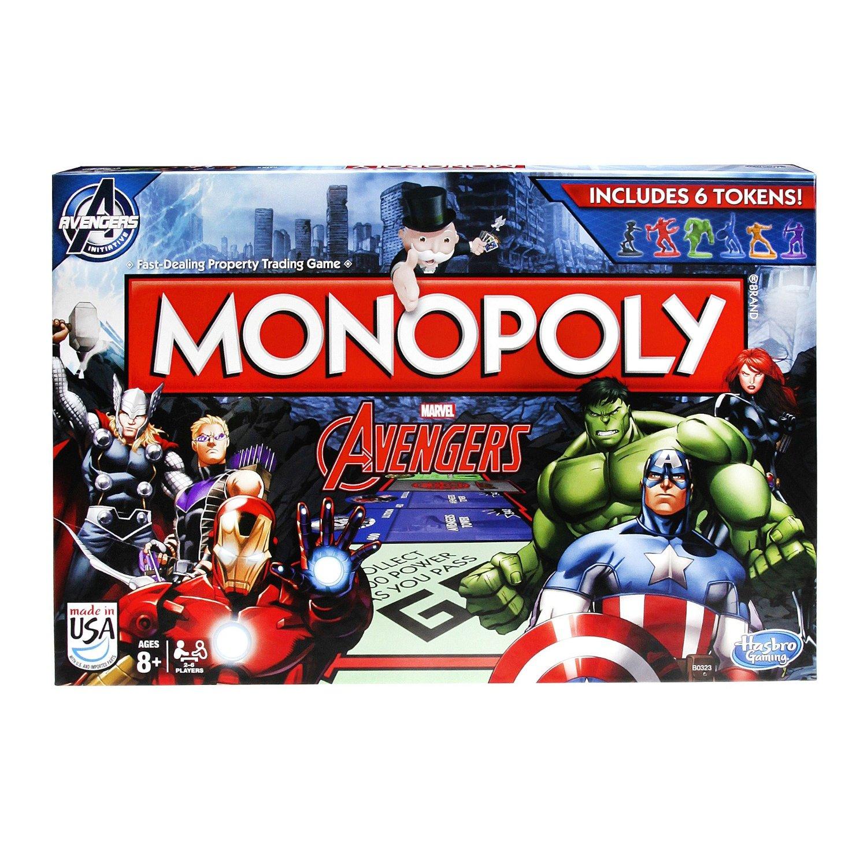 Amazon: Monopoly Edición Avengers a $199