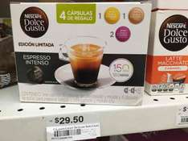 Cedraui Neza Impulsora: dolce gusto espresso intenso 16 + 4 cápsulas
