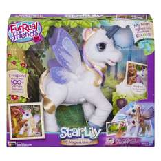 Amazon: Fur Real Friends StarLily, My Magical Unicorn, Version en Español