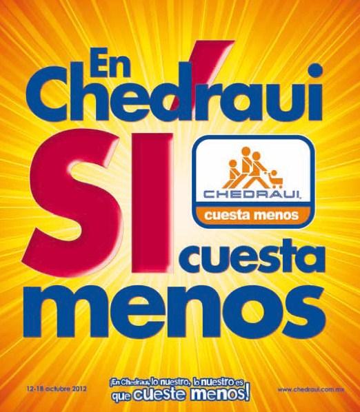 """Folleto Chedraui: pantalla 32"""" LED a $4,295 o 40"""" a $5,995, 4x3 en jugos Ades y más"""