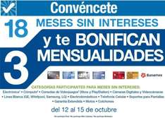 Sam's Club: 18 meses sin intereses y 3 de bonificación + outlet