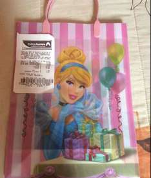Bodega Aurrerá: bolsa de plástico para regalo a $3.02