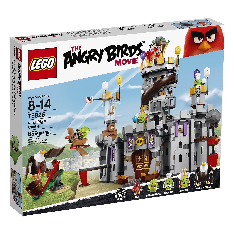 Amazon: LEGO Angry Birds - Castillo del Rey Cerdo rebajado de $1649 a $989