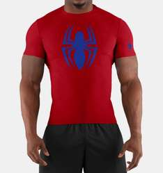 Under armour en línea: playera Spiderman