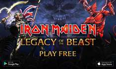 Google Play y App Store: Ya disponible: Iron Maiden Legacy Of The Beast