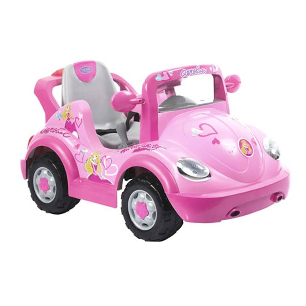 Walmart en línea: Montable Eléctrico Prinsel Cabrio Rosa 6 Volts