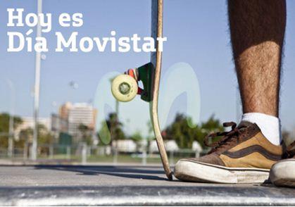 Día Movistar: doble tiempo aire octubre 10