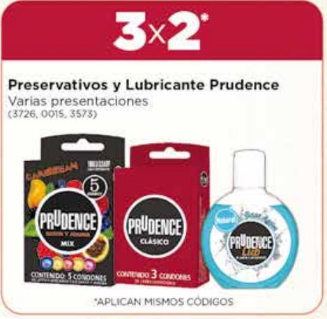 Farmacias del Ahorro 3x2 condones Prudence