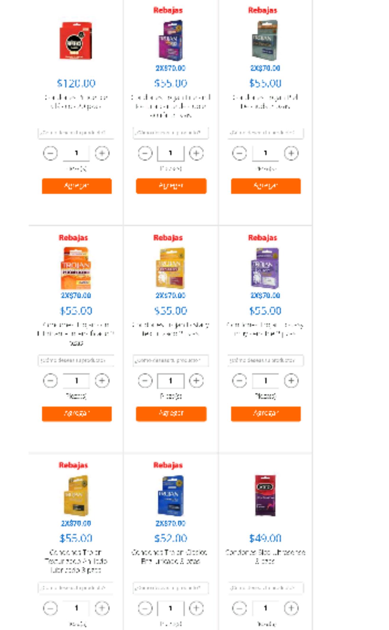 Walmart en linea: Varios condones con descuento
