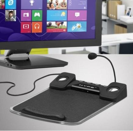 Amazon: Mousepad con reposa muñecas Multifuncional Hype HY-905-MPC (4 puertos USB, puerto de audio y microfono)