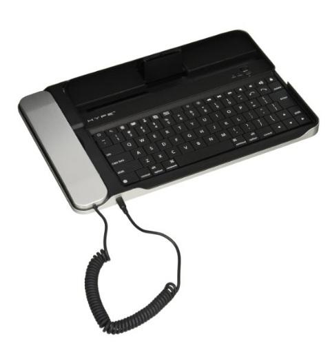 Amazon: SHype HY-1034-TBK Base para iPad con Teclado Bluetooth, color Negro