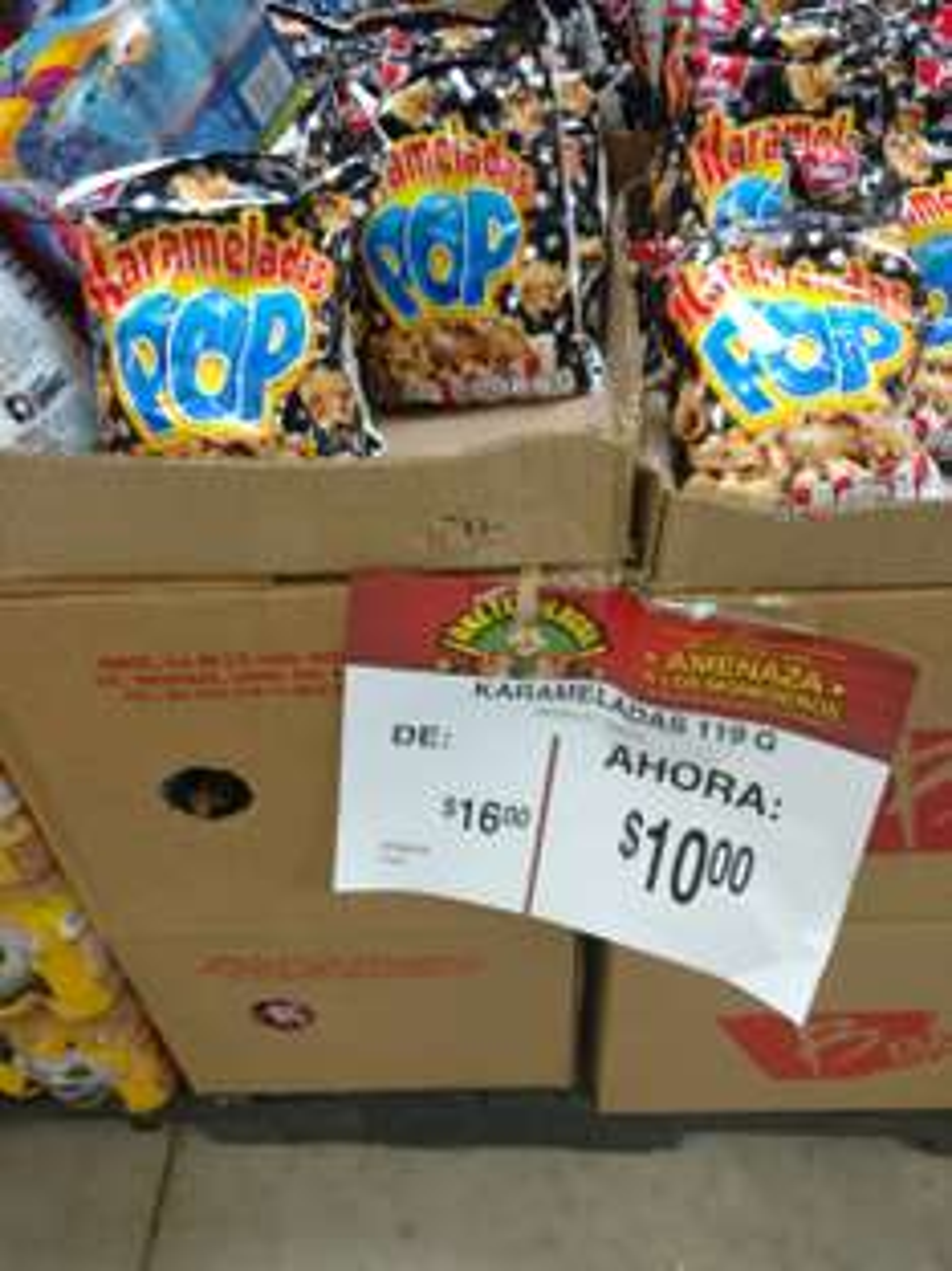 Bodega Aurrerá Lopez Portillo: Palomitas Karameladas a $10 pesos