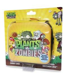 Game Planet: funda para nintendo 2ds plantas vs zombies