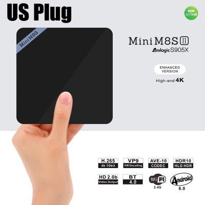 GearBest: Mini M8S II 4K Smart TV Box Amlogic S905X a $36 dólares con cupón