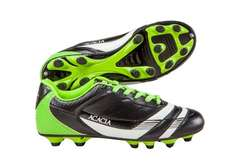 Amazon: ACACIA Thunder zapatos para fútbol Negro/Lime 28 5 (10.5 USA)