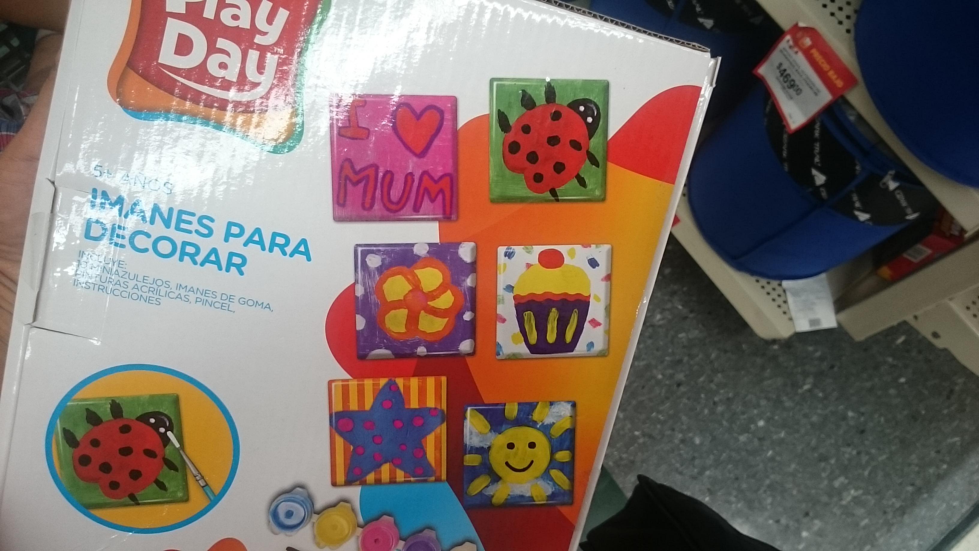 Walmart Domingo 10: juego haz tus imanes en $45.02