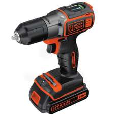 Amazon: Black & Decker BDCDE120C Desarmador/Taladro Inalámbrico 20V