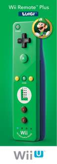 Amazon: Nintendo Wii Remote Plus Version Luigi