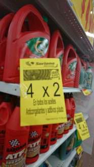 Mercado Soriana: 4 litros marca Rosfransh o como se escriba jajaja a $98