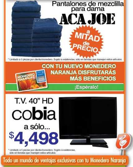 """La Comer: 2x1 en toallas, pantalla LCD 40"""" a $4,498 y más"""