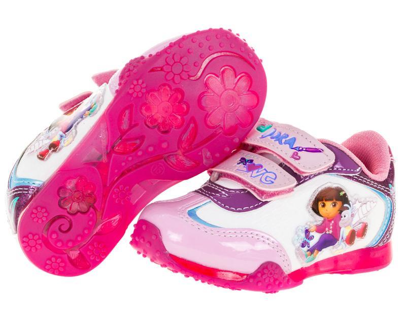 Coppel en linea: Tenis Dora la Exploradora Rosas