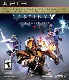 Amazon: Destiny: The Taken King, Legendary Edition para PS3 y Xbox 360 a $359