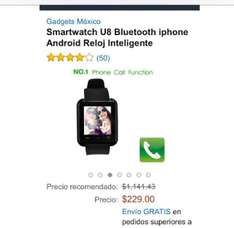 Amazon: smartwatch iOS / Android a $239