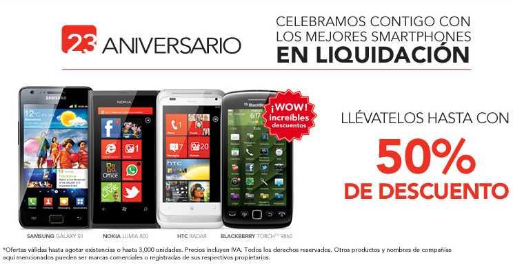 Liquidación de aniversario Iusacell: Nokia Lumia 800 a $4,766 con 1 año de servicio y +