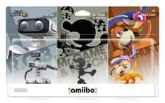 Amazon: Amiibo Retro 3 Pack + Envio Gratis