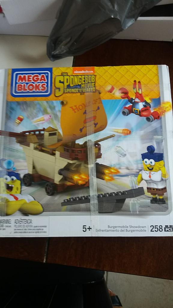 Walmart: Mega Blocks Bob Esponja a $45.01