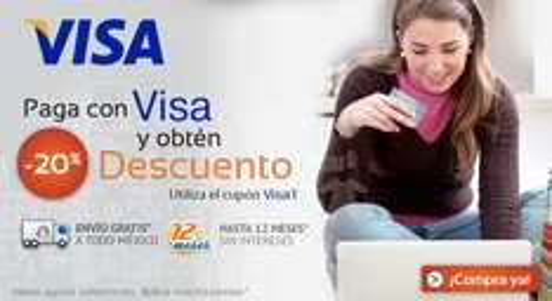 Linio: 20% de descuento con VISA. PS3 $3,519, Nokia Lumia 710 $2,239, iPhone 5 y más