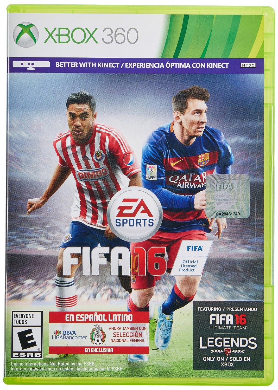 Amazon MX: FIFA 16 para Xbox 360 a $249 ($329 para Xbox One)