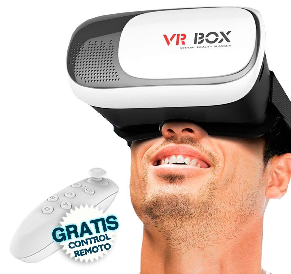 Amazon: Lentes Realidad Virtual 3D Vr Box Control Remoto Bluetooth a $599