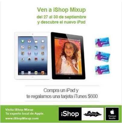 $1,000 de descuento en Mac, tarjeta de iTunes de $600 gratis comprando iPad y más
