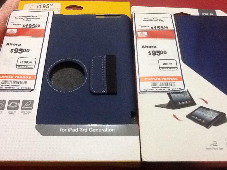 Chedraui Universidad: Funda o Protector TARGUS iPad Air y iPad 3G
