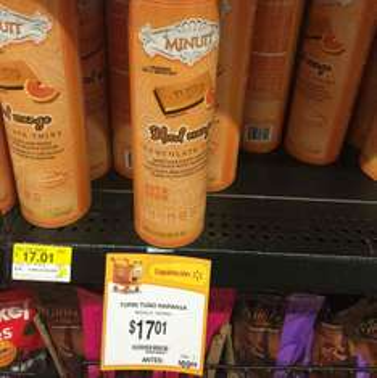 Walmart: Chocolate Turín Minuit a $17.01