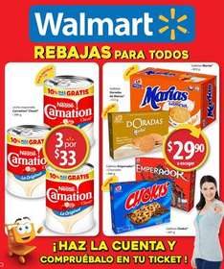 Nuevo folleto de Walmart del 13 de julio al 2 de agosto