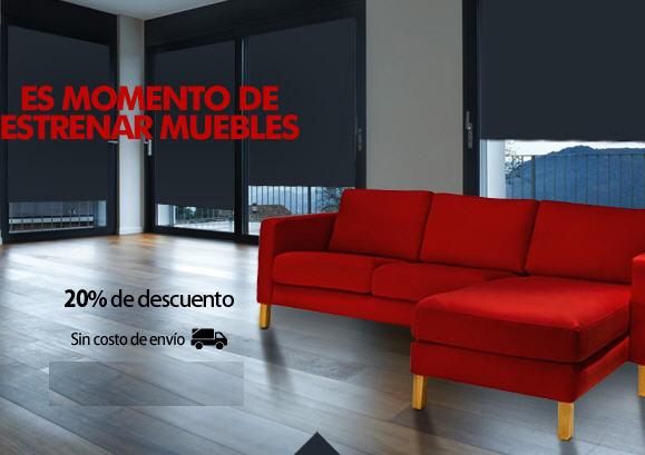 Liverpool: 20% de descuento y envío gratis en departamento de muebles y reclinable de regalo