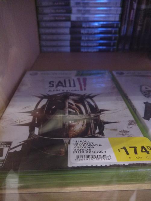 Comercial Mexicana: vídeojuego Saw - Xbox 360