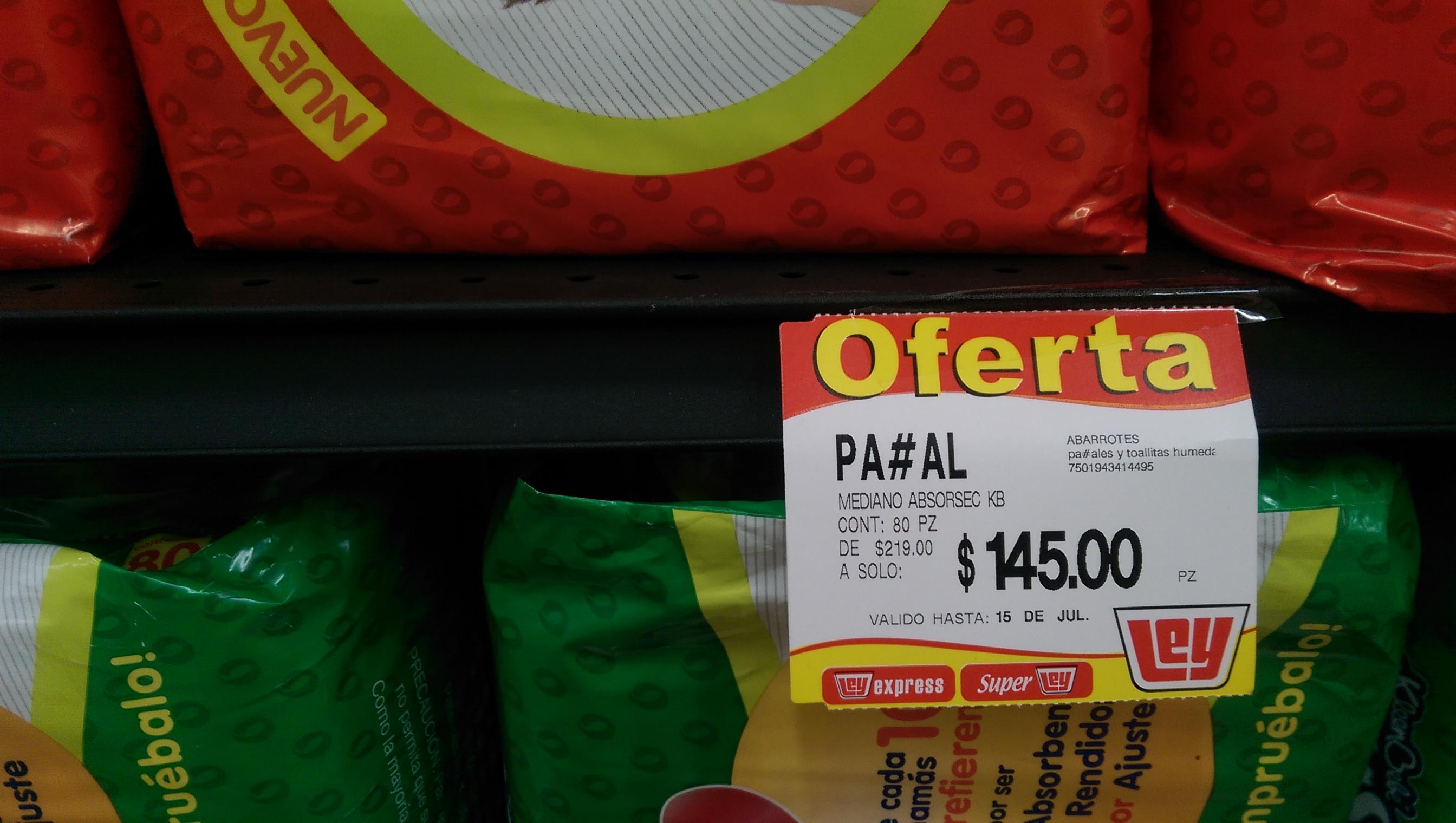 Tiendas Ley: 80 pañales Kleenbebe Absorsec Ultra etapa 3 $145, pollo kilo a $27.90 y Tablet HP 7 g2 a $1,390