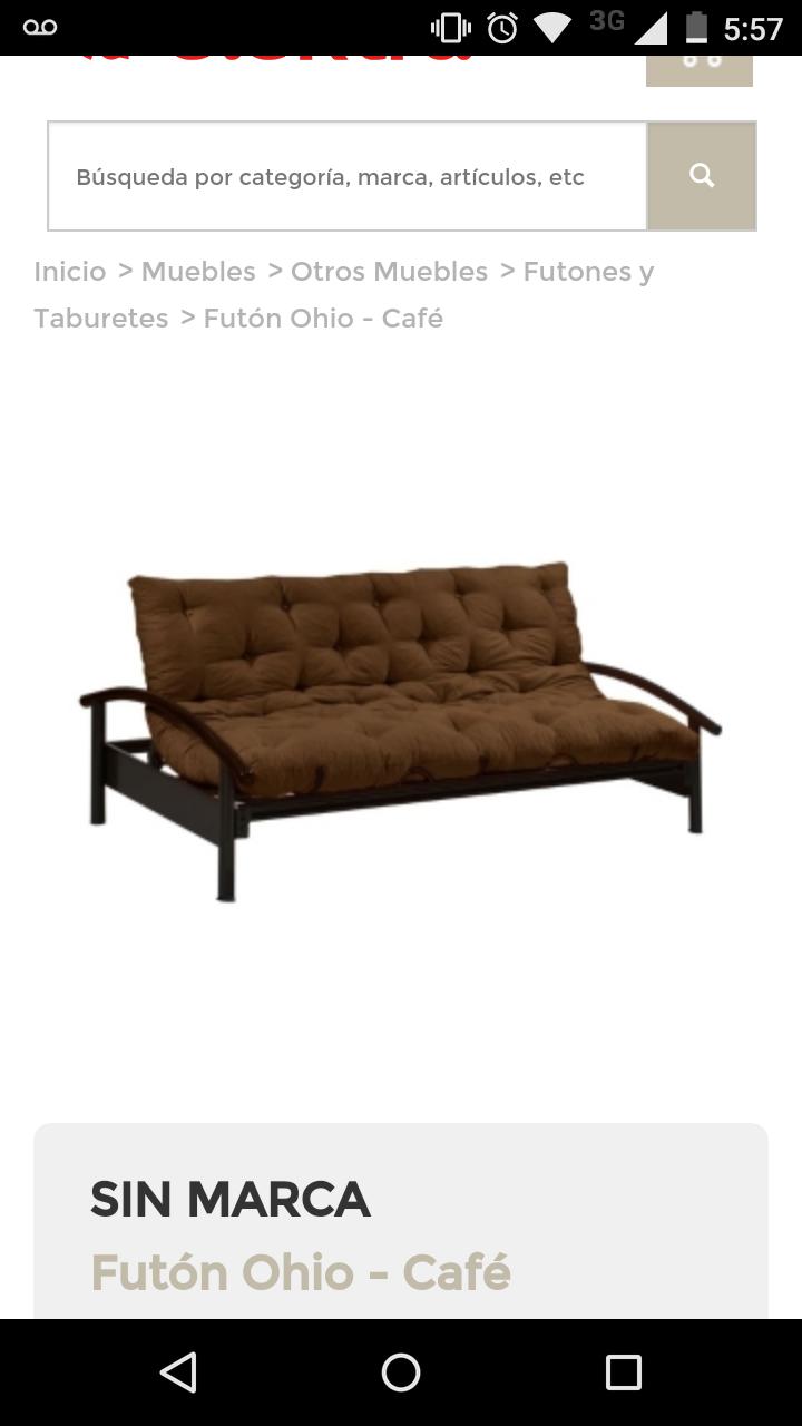 Elektra en línea: sofa-cama a $1,899