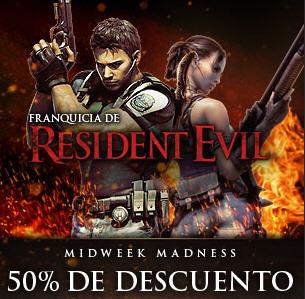 Videojuegos PC: Resident Evil 5 a 10 dólares y más descuentos