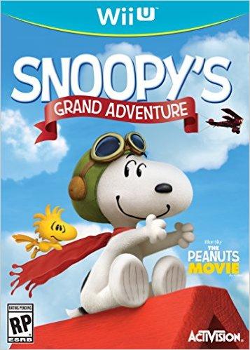 Amazon: Juego Peanuts Movie Snoopy's Grand Adventure para Wii U