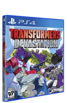 Amazon: Transformers Devastation para PS3, PS4 y Xbox One