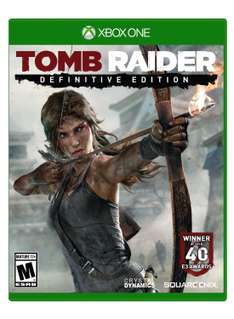 Amazon: Tomb Raider: Definitive Edition para Xbox One a $370