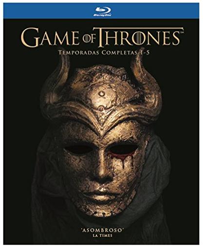 Amazon: Game of Thrones temporadas 1-5 Blu-ray $1199.00 oferta relámpago