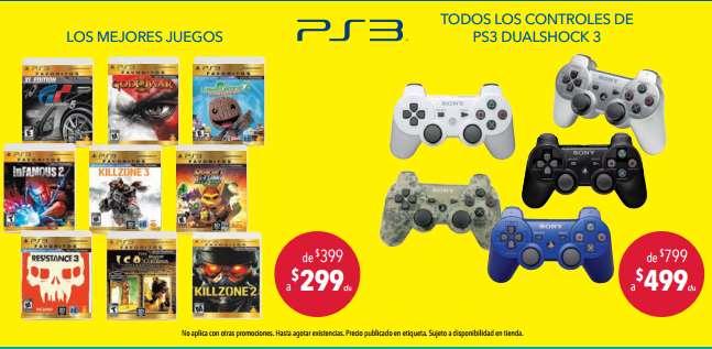 Juegos favoritos de PlayStation 3 $299 y control $423