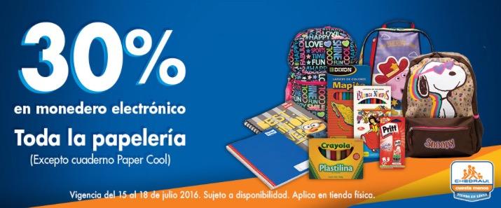 Chedraui: 30% de bonificación en papelería y más ofertas esté fin de semana