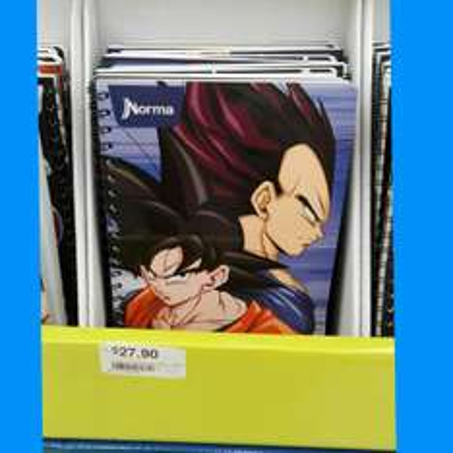 Chedraui: Cuaderno norma de Dragon Ball a $27.90