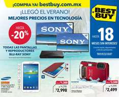 Folleto de ofertas en Best Buy del 10 al 16 de julio